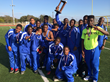 Pro-Vision Academy Track Team with their TCSAAL First Place Trophy