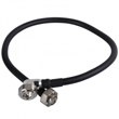 """DIN Male to Right Angle Male for 1/2"""" superflex Cable Assembly Jumper"""