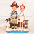Custom Wedding Cake Toppers from UniqueWeddingCakeToppers.com Are...