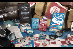 Vintage Aviation Playing Cards Airship and Airplane Poker Set Kickstarter
