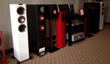Totem Arro speaker with KEF, Krell, and Martin Logan