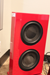 Totem Tribe Subwoofer in Red at Monaco Pasadena