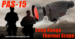 Affordable long range thermal rifle scope