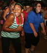 Zumba is one of the most popular activities among the Young Adult Program