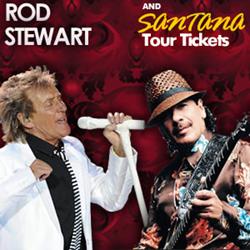 Rod Stewart And Santana