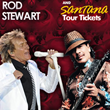 Rod Stewart and Santana Tickets for Their Concert Tour Together Go On...