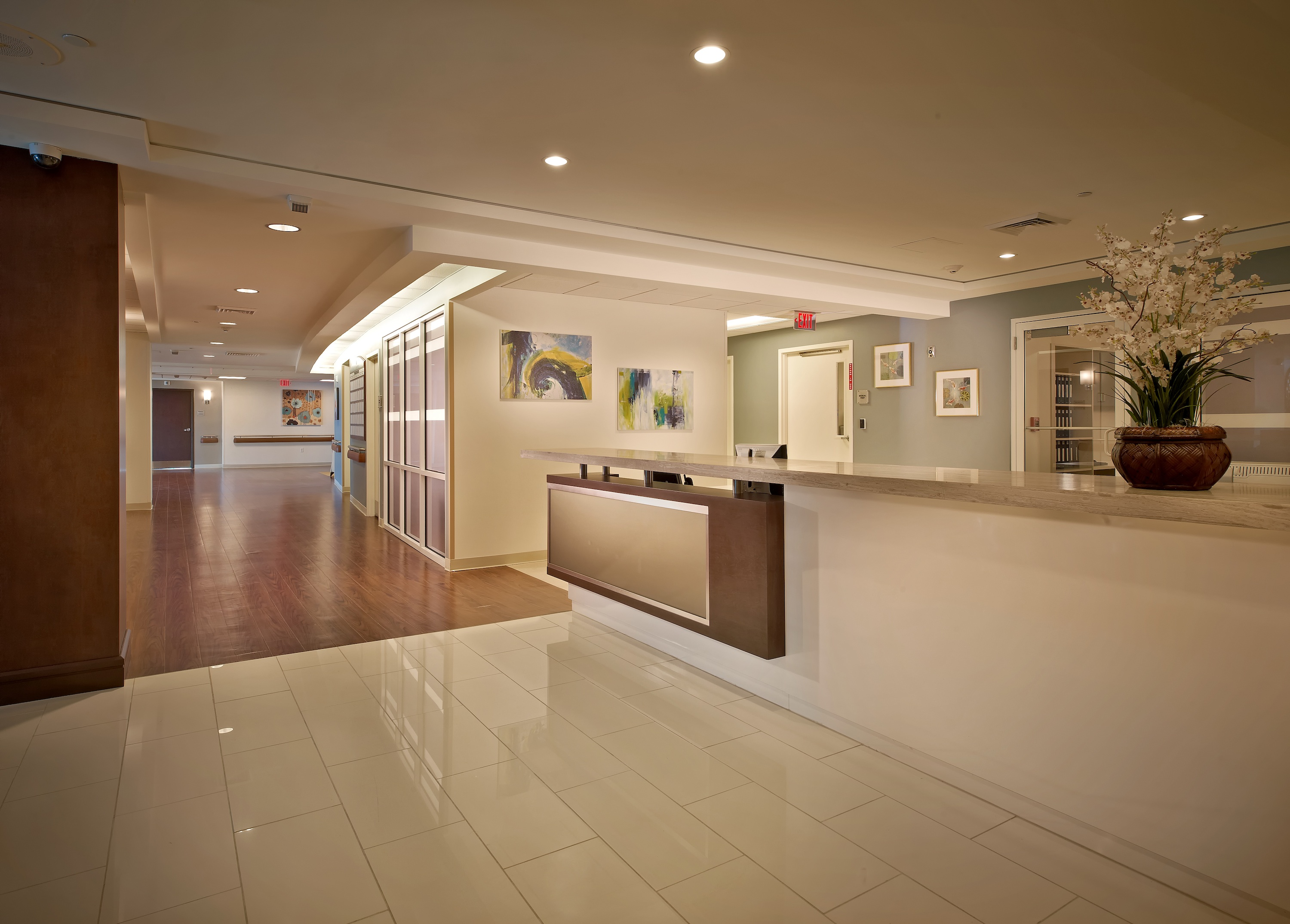 Add inc brings modern design and amenities to new Nursing home architecture