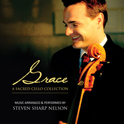CD Artwork - Steven Sharp Nelson releases Grace: A Sacred Cello Collection