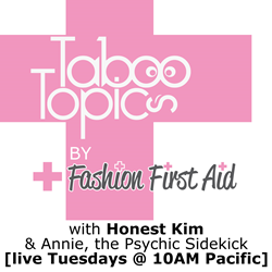 Podcast Tuesdays 10AM PT addressing the dirty side of fashion
