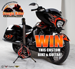 Sturgis Rider® Sweepstakes Custom Victory Motorcycle and Matching Epiphone Guitar Unveiled at Daytona Bike Week