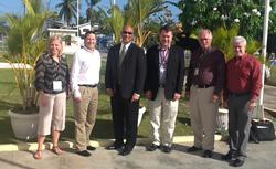 Frost & Sullivan visits Qualfon Guyana