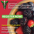International Plant-based Nutrition Healthcare Conference Announces...