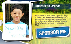 Orphans Tear Christian Charity from Heaven's Family