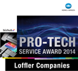 Loffler Companies Honored with 2014 Konica Minolta Pro-tech Award
