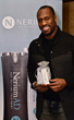 NFL 49'ers Vernon Davis at Secret Room Events Red Carpet Style Lounge honoring the 86th Academy Awards nominees