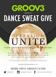 Dance, Sweat, and Give back on March 16th