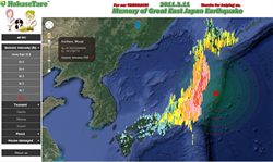 Great East Japan Earthquake Disaster Statics Map
