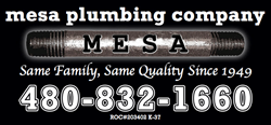 Mesa Plumbing is now offering 24-hour emergency service to the East Valley of Arizona 24 Hours a day. Full details are available online at http://www.mesaplumbingcompany.com.