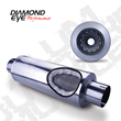 Diamond Eye Performance Stainless Steel Muffler with Perforated Core