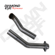 Diamond Eye Performance Turbo Downpipe for 1994-97 Ford F-250/350 7.3L Diesel