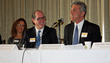 (L-R): Panelists Dani Glaser, CEO of Green Team Spirit, Larry Gottlieb, CEO of Hudson Valley Economic Development Corporation, Jim Giangrande, managing director of Altium Wealth Management.
