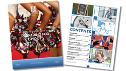 Cheerleading Blog University released a new free eBook on tryouts