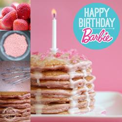 Barbie pancakes
