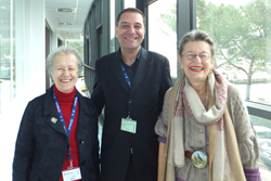 SPIE Past President María Yzuel, SPIE Fellow Mourad Zghal, and SPIE Past President Katarina Svanberg were among participants at the Winter College of Optics in Trieste.