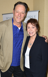 Susan Nickell, Sevique founder with Actor Chris Mulkey from the 6 time Ocsar nominated film Captain Phillips