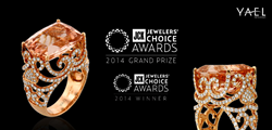 Yael Designs wins 2014 JCK Jewelers Choice Award