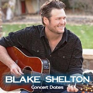 Blake Shelton Concert Tickets In Denver And Salt Lake City