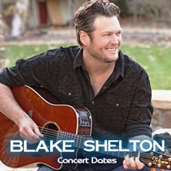Blake Shelton Concert Tickets