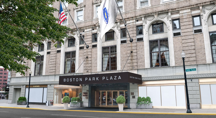 Back Bay Hotels Like Boston Park Plaza Hotel Prepare To Welcome Guests Who Come For Top Events In May