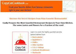 copycat cookbook review
