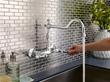 Opulence Two Handle Bridge Wall Mount Kitchen Faucet D416057 From Danze