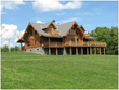 Frank Lumia Realestate Presents Custom Log Home On 72 Rolling Acres
