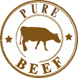 Pure Beef Logo