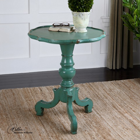 Uttermost Aquila Pedestal Accent Table 24370 ...