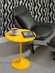 Zuo Modern Wilco Side Table Yellow 401144