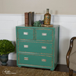 Uttermost Aquias Hand-Painted Accent Chest 24369