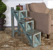 Uttermost Asher Blue Accent Table 25584