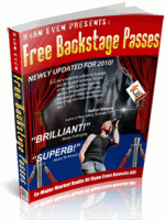 How To Get Free Backstage Passes Easily with The Free Backstage Pass Guide
