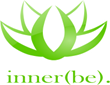 Meditation, stress relief, logo