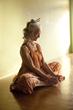 Meditation, woman meditating, stress relief