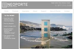 Neoporte Modern Door - New Website
