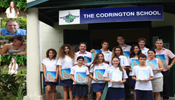 The Codrington School Yearbook Staff