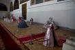 Retrospective Exhibit of Nikos Floros in Raphael Hall St Petersburg