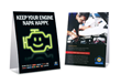 """Keep Your Engine NAPA Happy""counter cards"