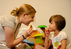 Children with autism gain skills and reduce problem behaviors through ABA therapy.