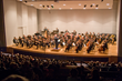 The Kentucky Symphony on stage at Greaves Concert Hall